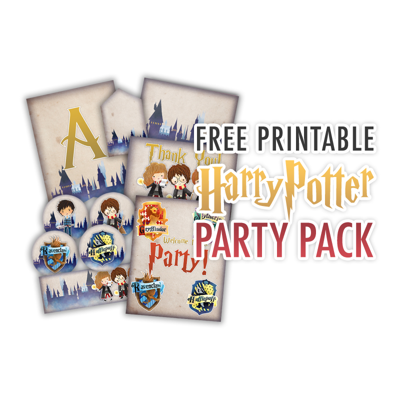 Free Printable Harry Potter Party Pack For All Occasions The