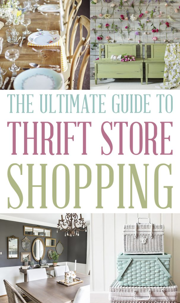 The Ultimate Guide to Thrift Store Shopping from The Cottage Market