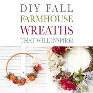 DIY Fall Farmhouse Wreaths That Will Inspire!