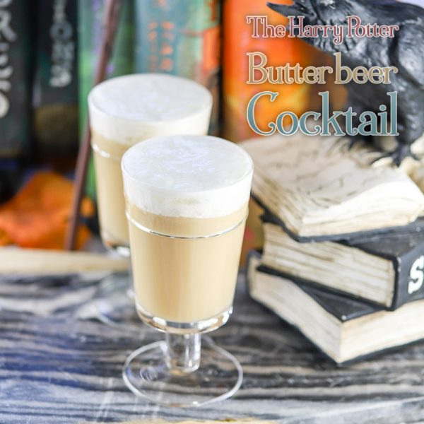 Harry Potter Butterbeer Cocktail