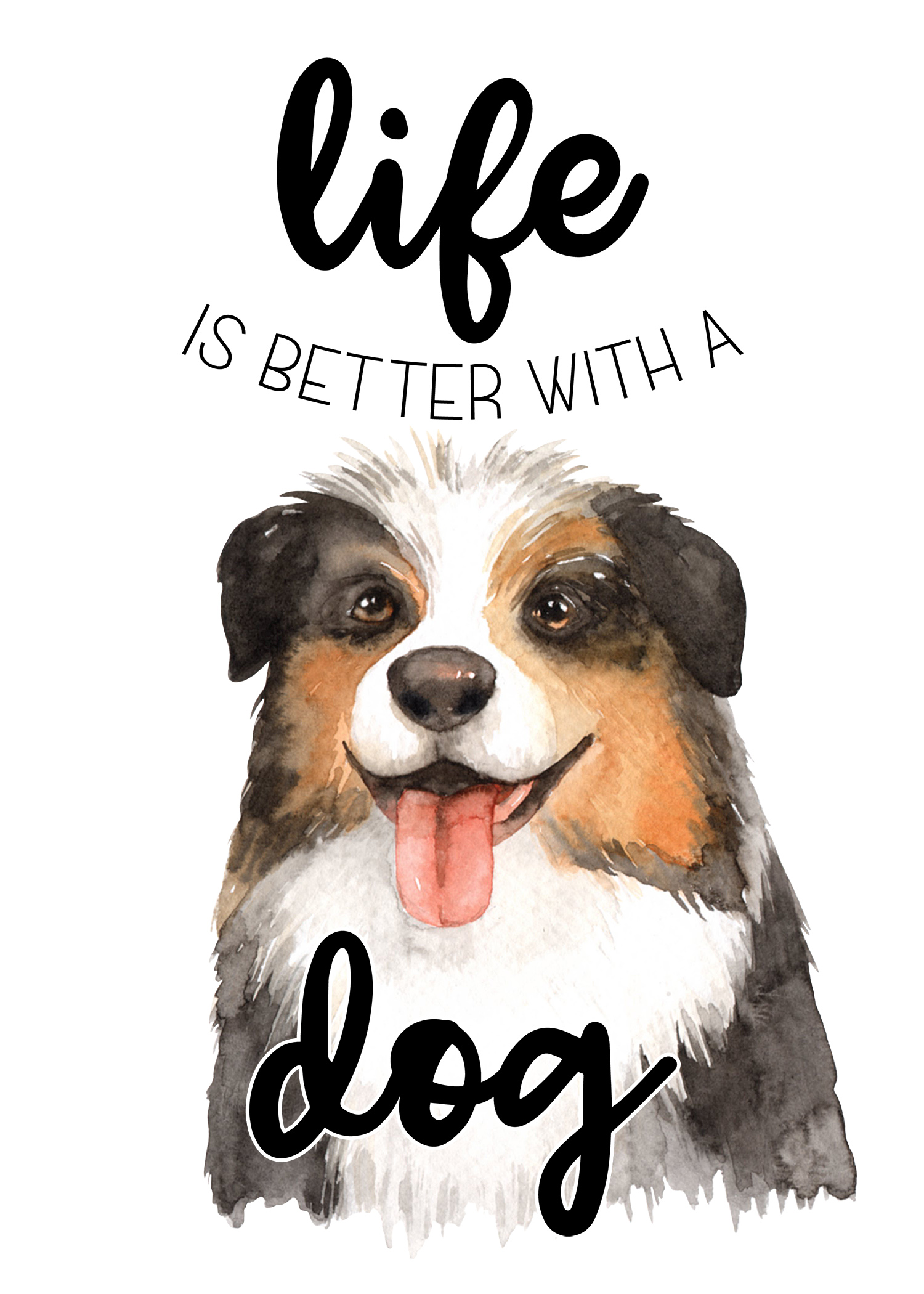 picture relating to Printable Pictures of Dogs identify Free of charge Printable Pet dog Wall Artwork /// Satisfied Nationwide Puppy Working day