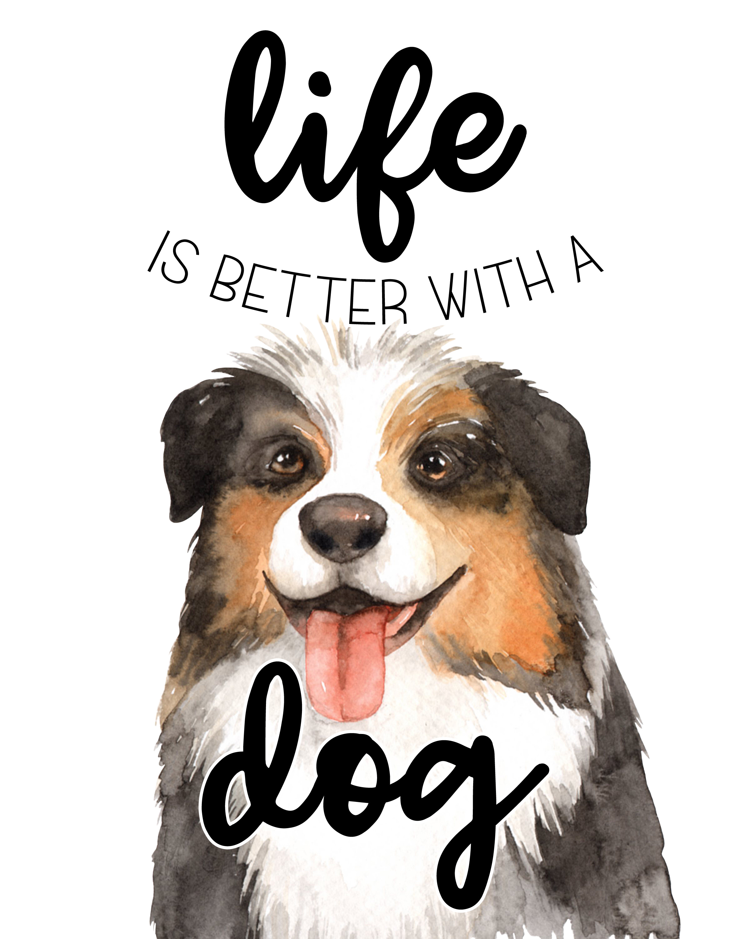 picture relating to Printable Dog Pictures known as No cost Printable Canine Wall Artwork /// Content Nationwide Doggy Working day