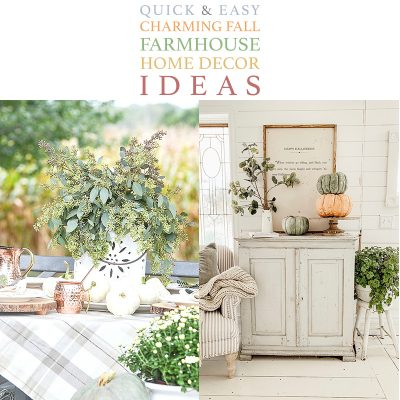 Quick & Easy Ideas to Add Farmhouse Fall Charm To Your Home