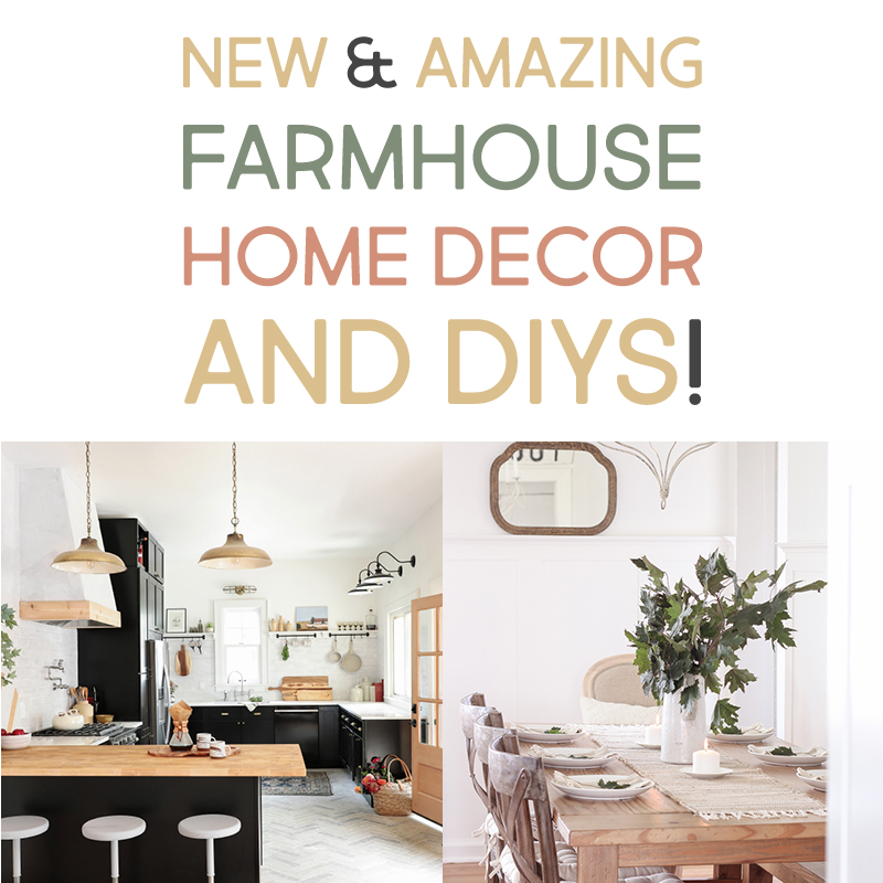 Amazing Home Decor: New And Amazing Farmhouse Home Decor & DIYS