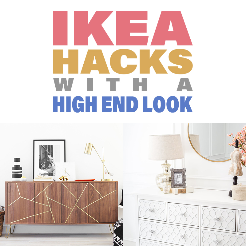 It's time for a brand new Collection of IKEA Hacks With a High End Look! You won't believe how incredibly expensive these IKEA Hacks look!