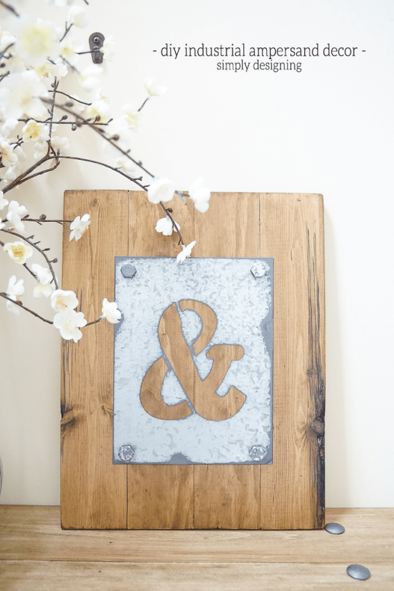 Come on in and visit for a bit and enjoy all of these Interesting and Unique Industrial DIY Farmhouse Accessories. You will be totally inspired!