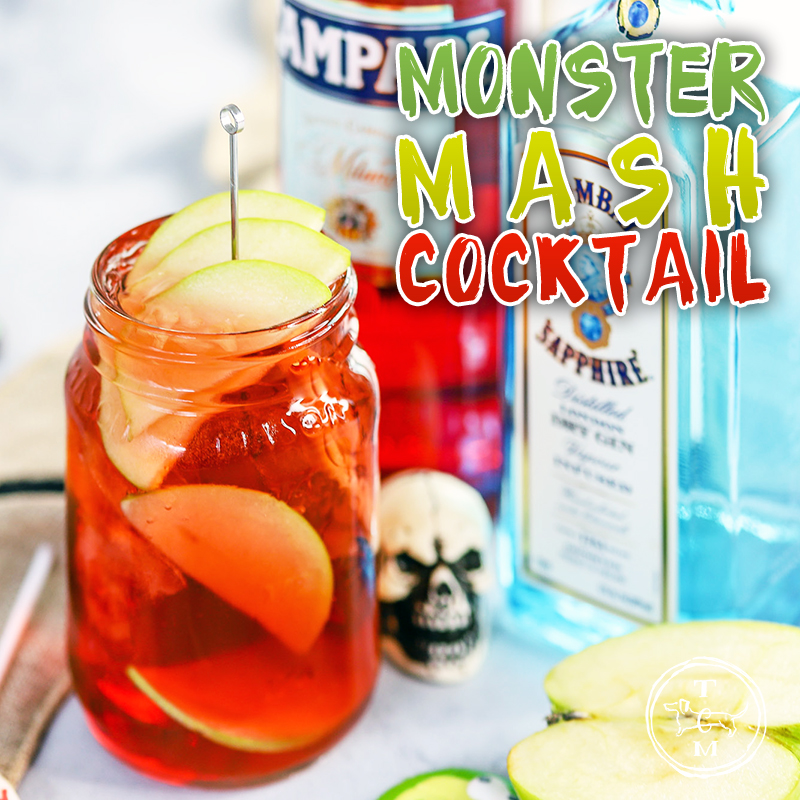Come on in and check out our newest concoction! It's call The Monster Mash and it is truly the perfect Halloween Cocktail!