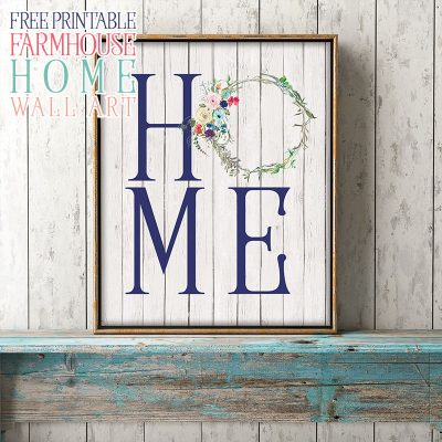 Free Printable Farmhouse Home Wall Art
