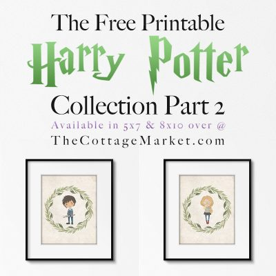 The Free Printable Harry Potter Collection Part 2