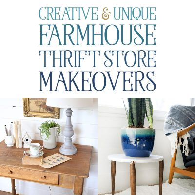 Creative and Unique Thrift Store Makeovers