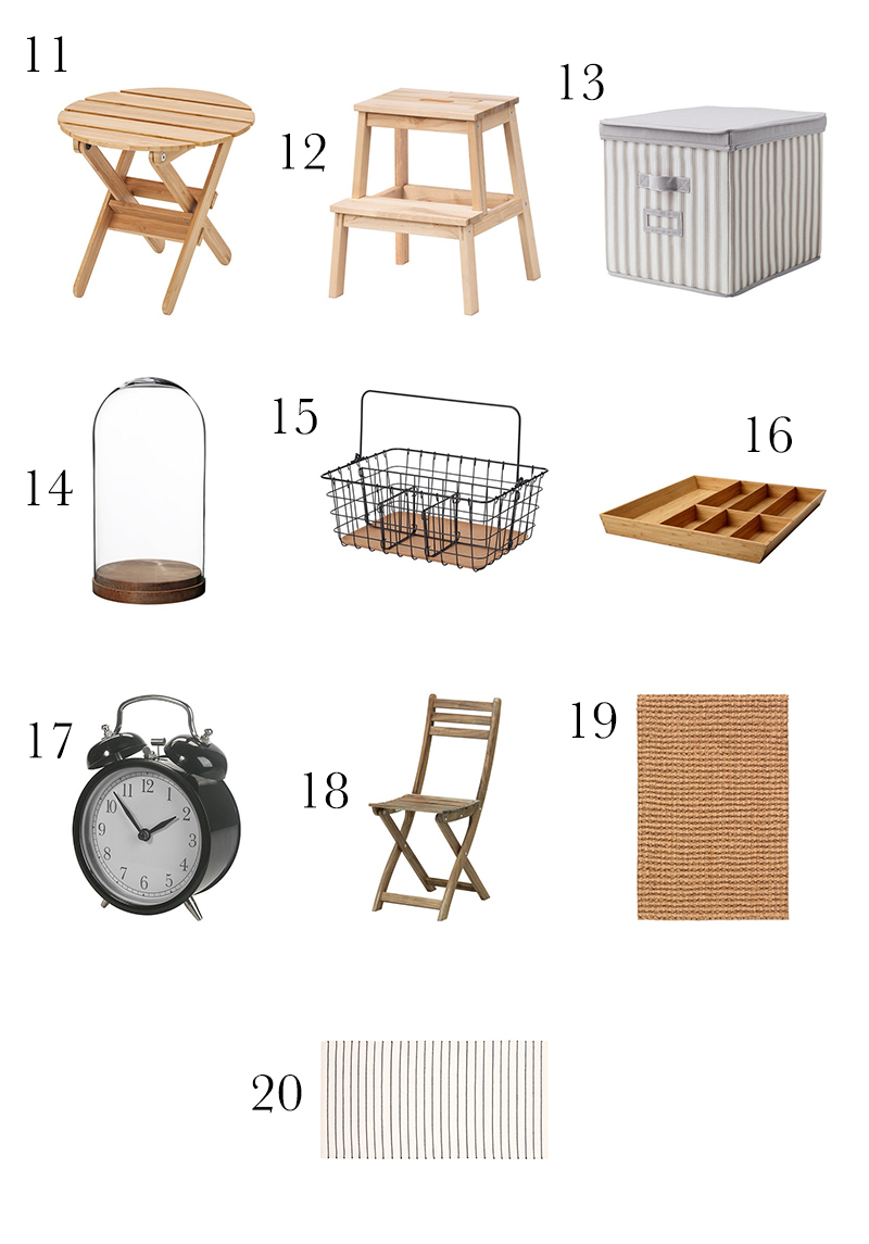 Come on in and check out 40 Farmhouse Finds from IKEA Under 20 Dollars plus a few bonus pieces! You will find tons of IKEA Hack Ideas and