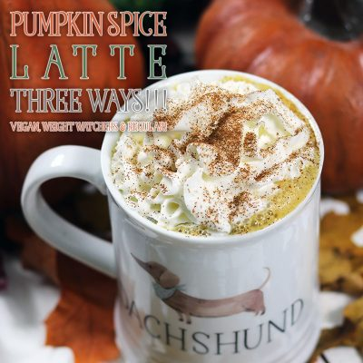 Pumpkin Spice Latte Three Ways! /// Vegan, Weight Watchers & Regular