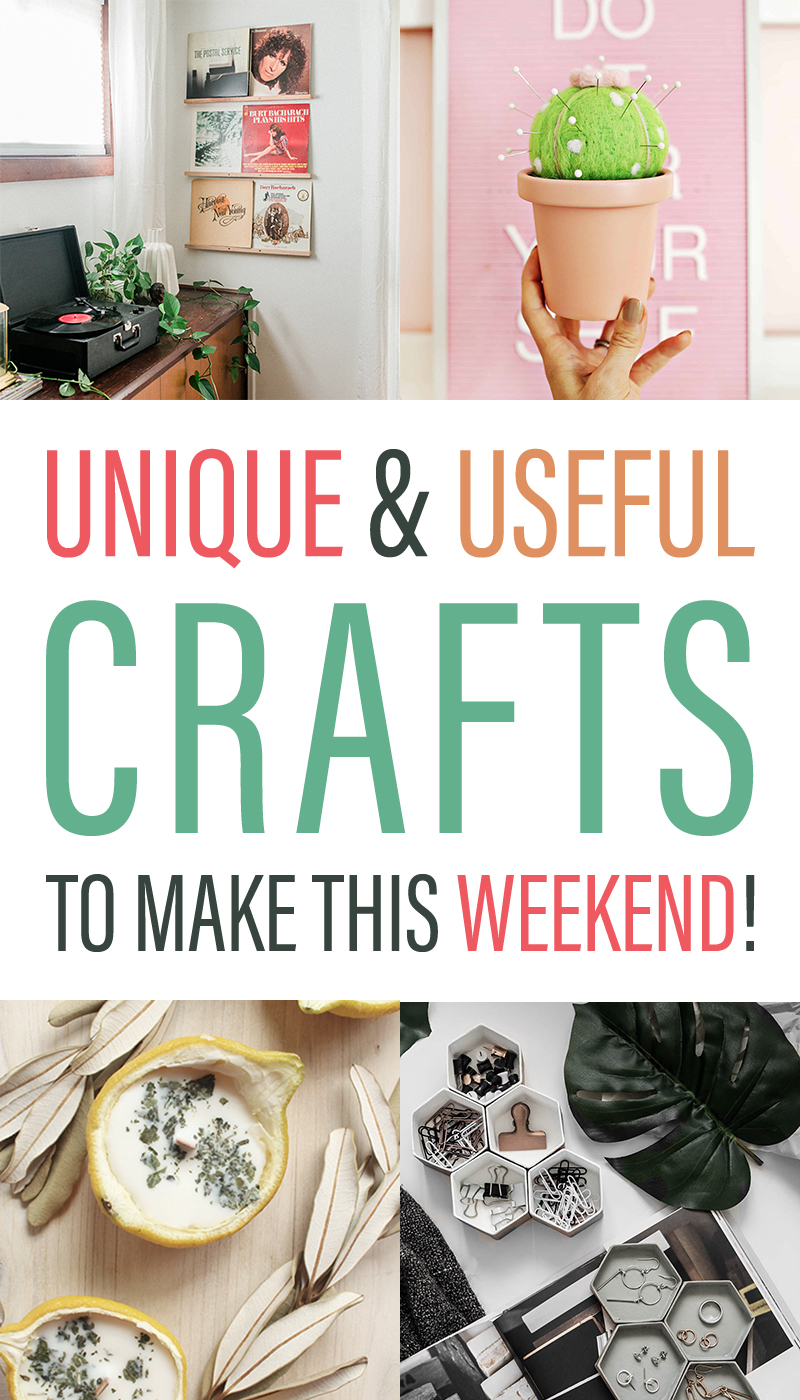 Unique And Useful Crafts To Make This Weekend The Cottage Market