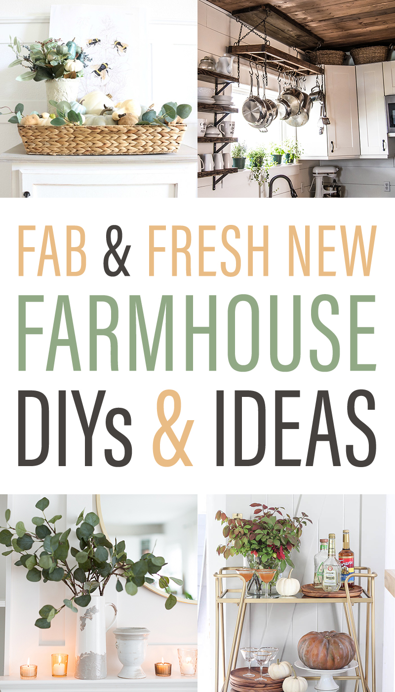 Come and join us for some Fab and Fresh New Farmhouse DIYS and Ideas! There is always something happening in the Farmhouse World,,, check it out!