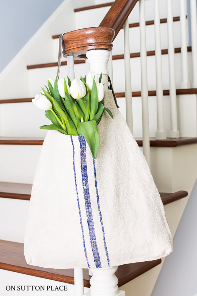Grain Sack DIY Projects and everything you need to know about Grain Sacks awaits you!