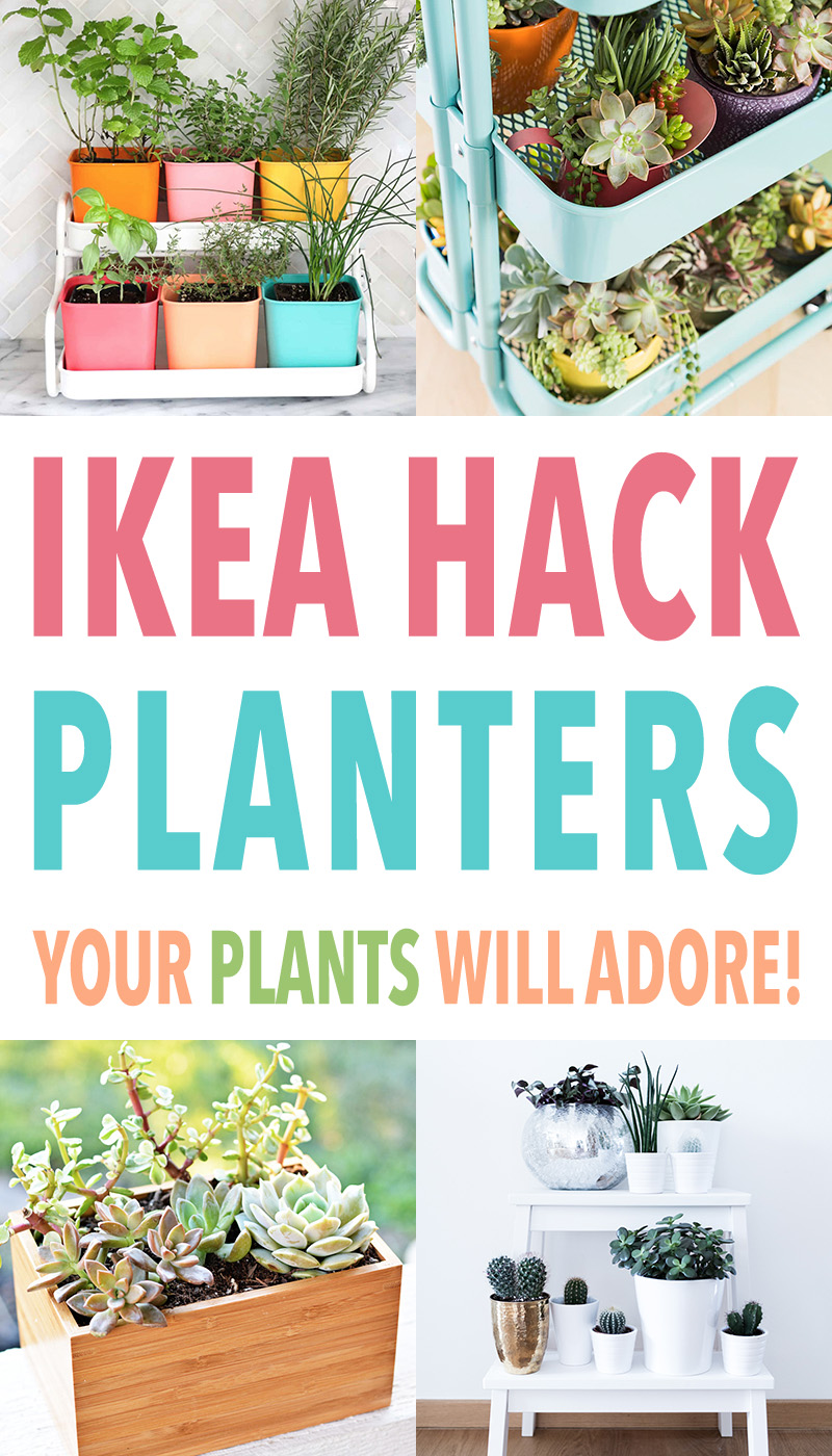 Come on in and check out all of these wonderful IKEA Hack Planters Your Plants Will Adore. All different styles and one is perfect for you!