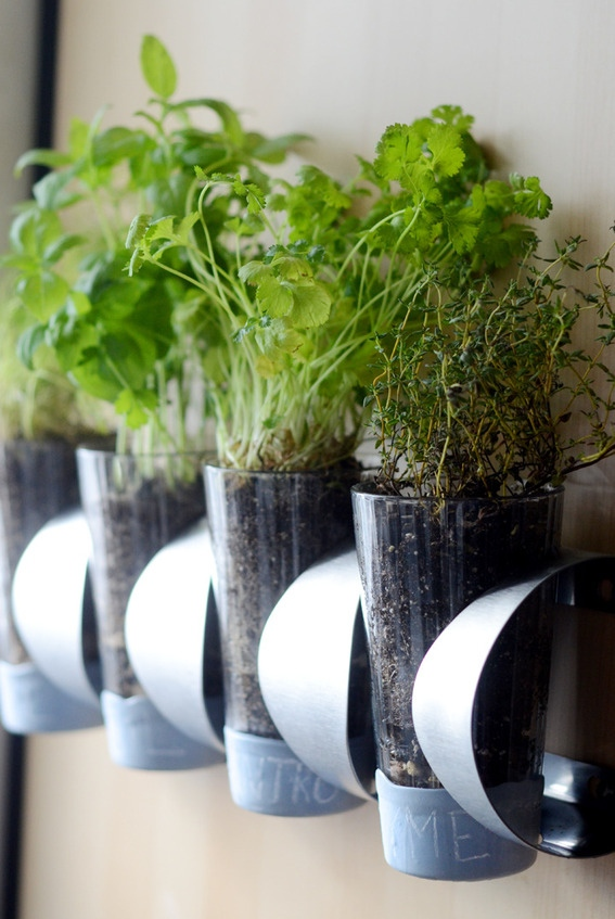 IKEA Hack Planters in all different styles and sizes.  They are quick and easy to create!