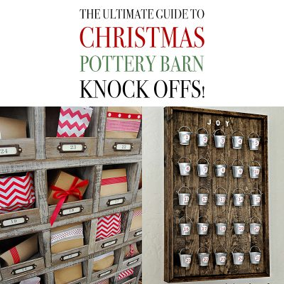The Ultimate Guide to Christmas Pottery Barn Knock Offs!