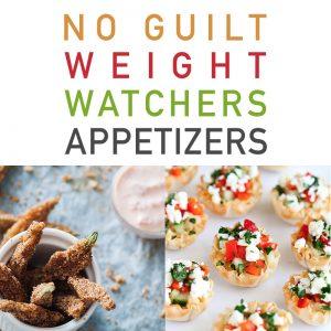 No Guilt Weight Watchers Appetizers