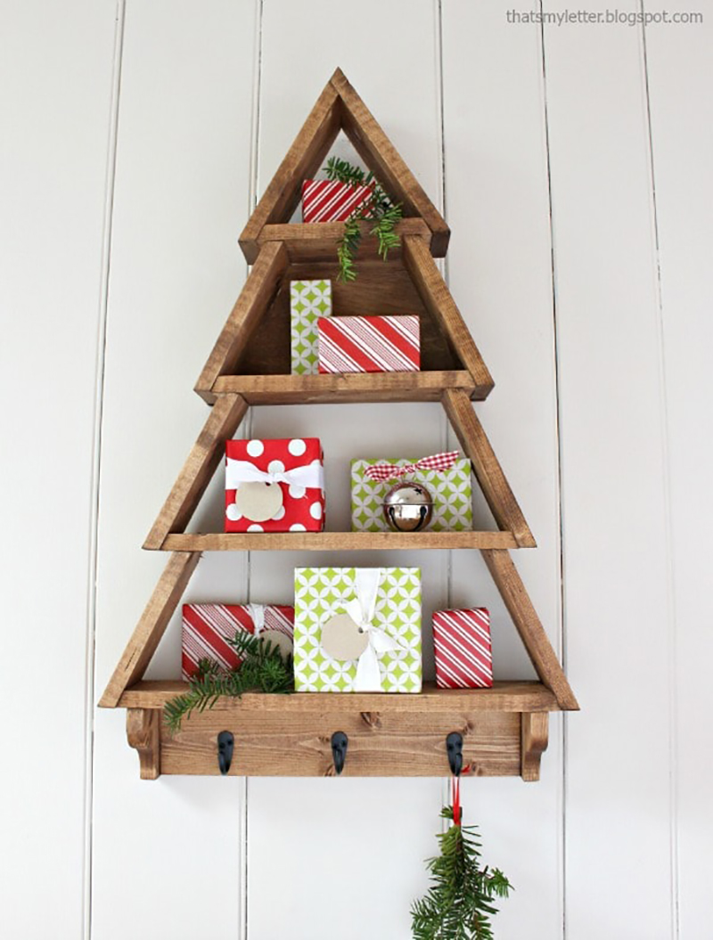 Come on in and visit so you can check out these Fabulous Farmhouse Wooden Christmas Tree Projects! They are the perfect Winter Farmhouse Accessory!