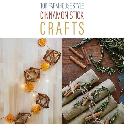 Top Farmhouse Style Cinnamon Stick Crafts