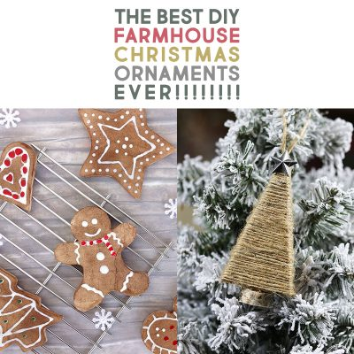 The Best DIY Farmhouse Christmas Ornaments Ever!