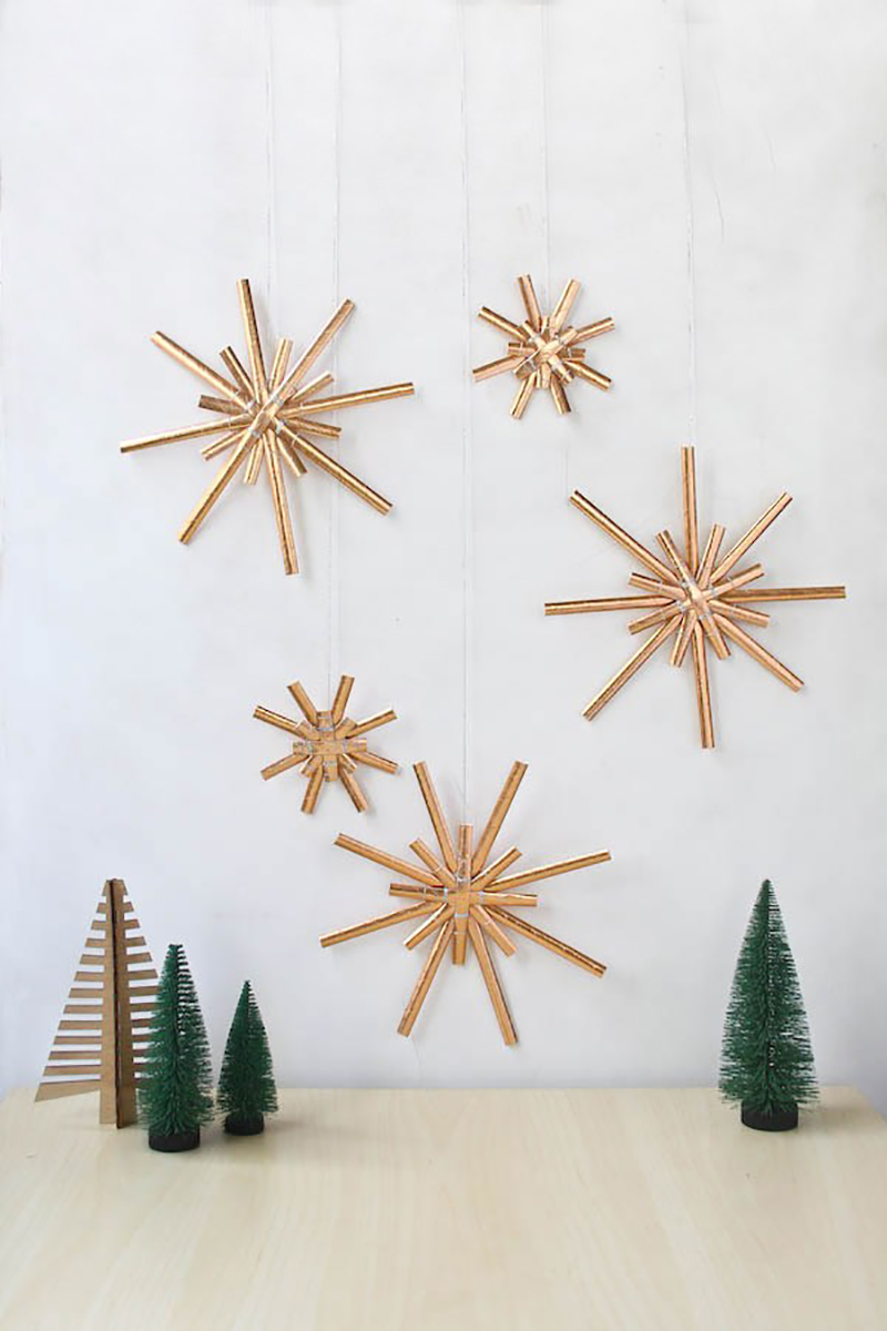 all new diy trendy holiday crafts to make this weekend the