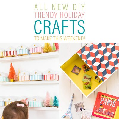 ALL NEW DIY Trendy Holiday Crafts To Make This Weekend!