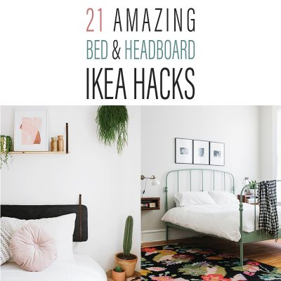 21 Amazing Bed and Headboard IKEA Hacks