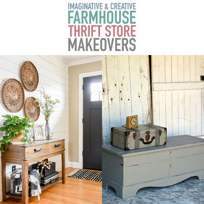 Imaginative and Creative Farmhouse Thrift Store Makeovers