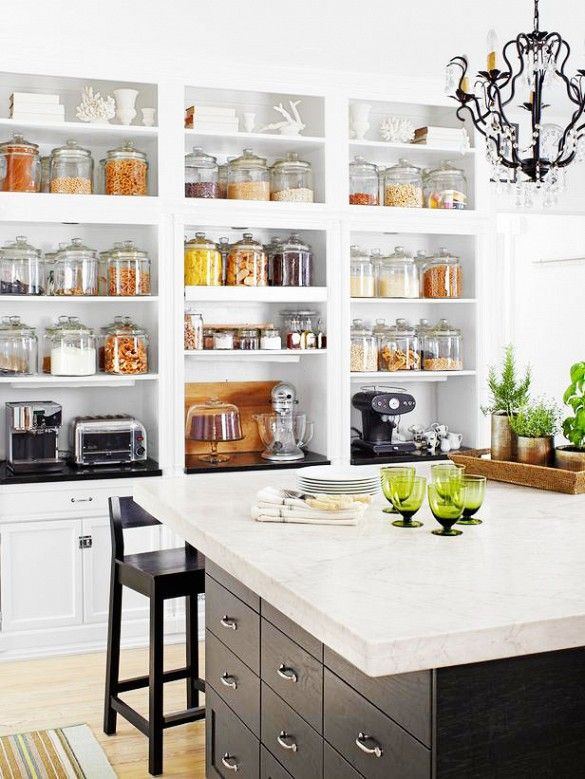 The Benefits Of Open Shelving In The Kitchen: The Best Kitchen Trends Of 2019 To Refresh Your Space