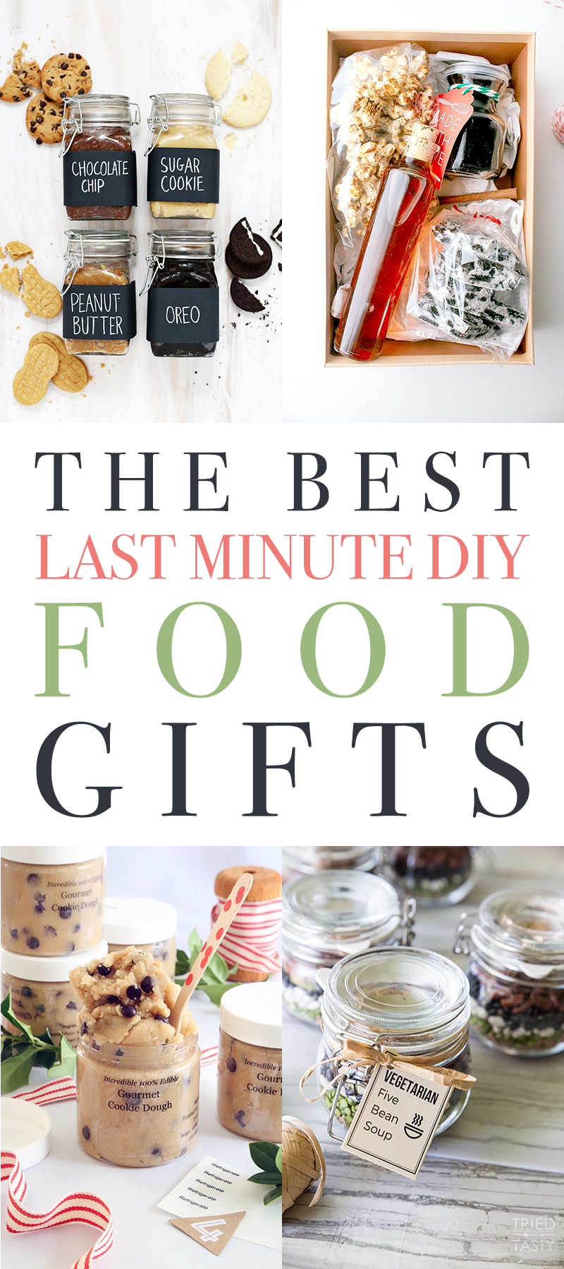The Best Last Minute DIY Food Gifts are waiting for you on the blog. Such yumminess that will make anyone you know a happy camper! Bon Appetit!