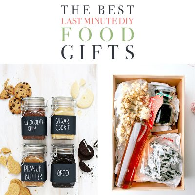 The Best Last Minute DIY Food Gifts!