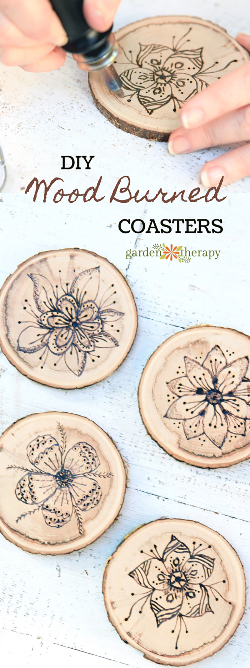 Top Farmhouse Wood Slice Projects are waiting for you to check out and then create! From Coasters to Cake Stands there is something perfect for your home!