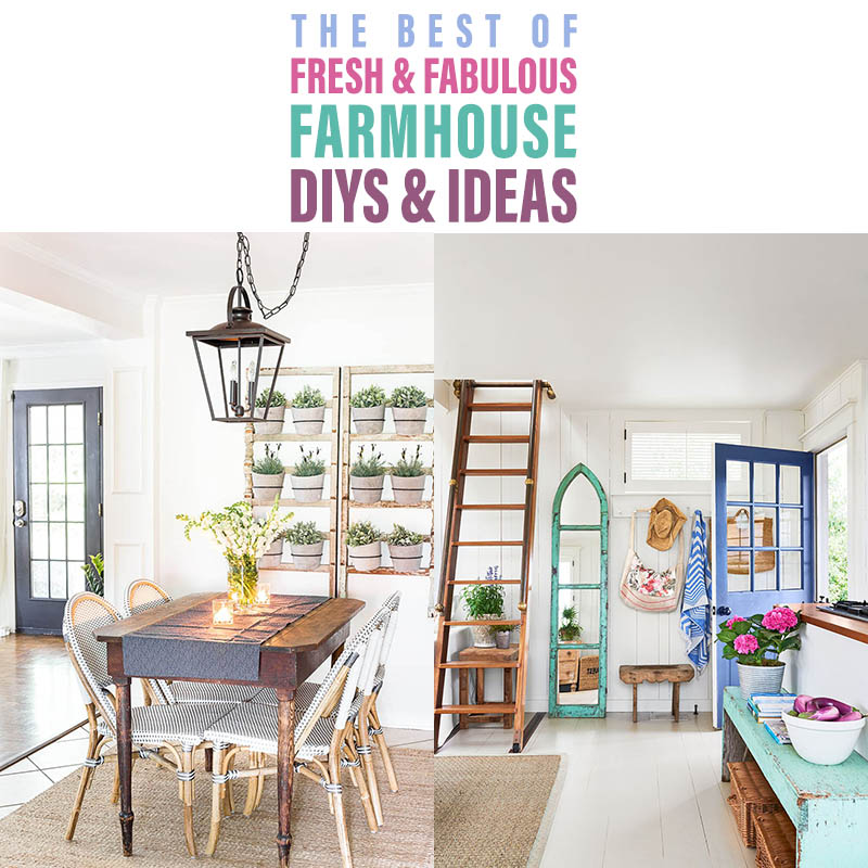 The Best of Fresh Fabulous Farmhouse DIYS and Ideas are waiting for you!  Take a look back at 2018 and check out a ton of your favorite DIYS and Ideas!