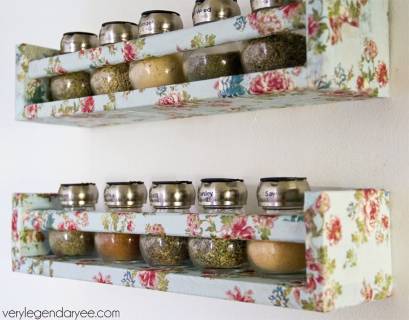 Get Organized with Spice Rack IKEA Hacks. This simple and inexpensive wooden rack can be used in so many different way... I think you will love them all!