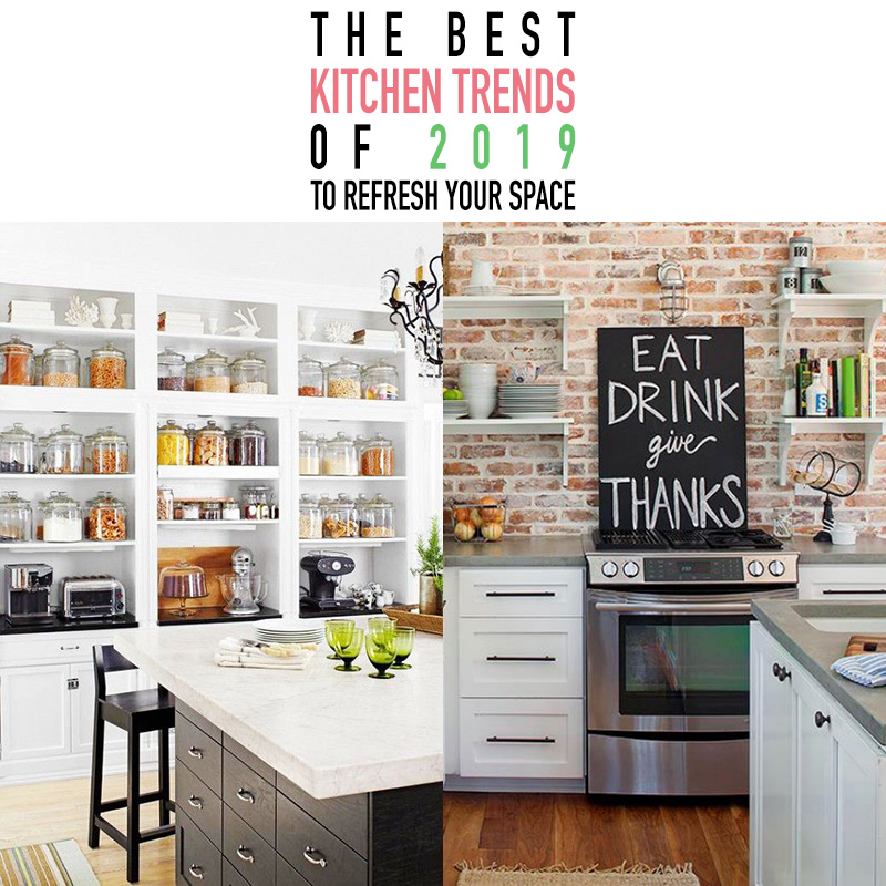 23 Best Cottage Kitchen Decorating Ideas And Designs For 2019: The Best Kitchen Trends Of 2019 To Refresh Your Space