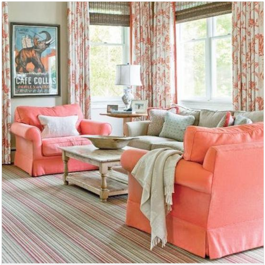 Pantone Living Coral Used in Home Decor is what it is all about here today! All different ideas and ways to use this new ALIVE color!