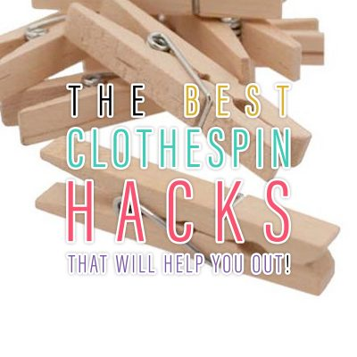 The Best Clothespin Hacks That Will Help You Out