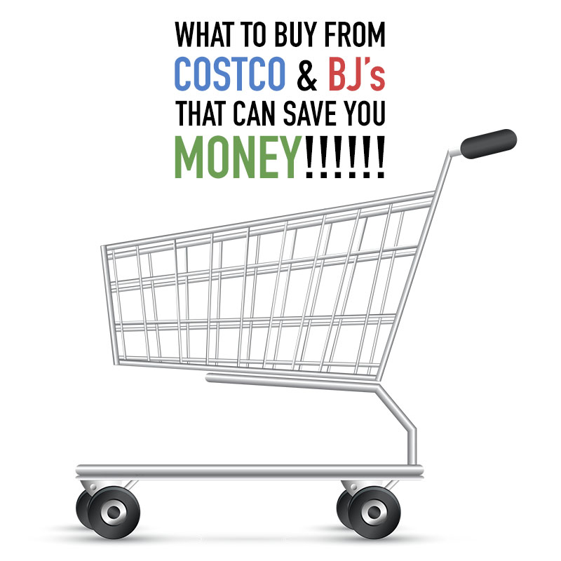 What to Buy From Costco & BJ's That Can Save You Money! We will fill you in on the items that are a great deal and will save you money!