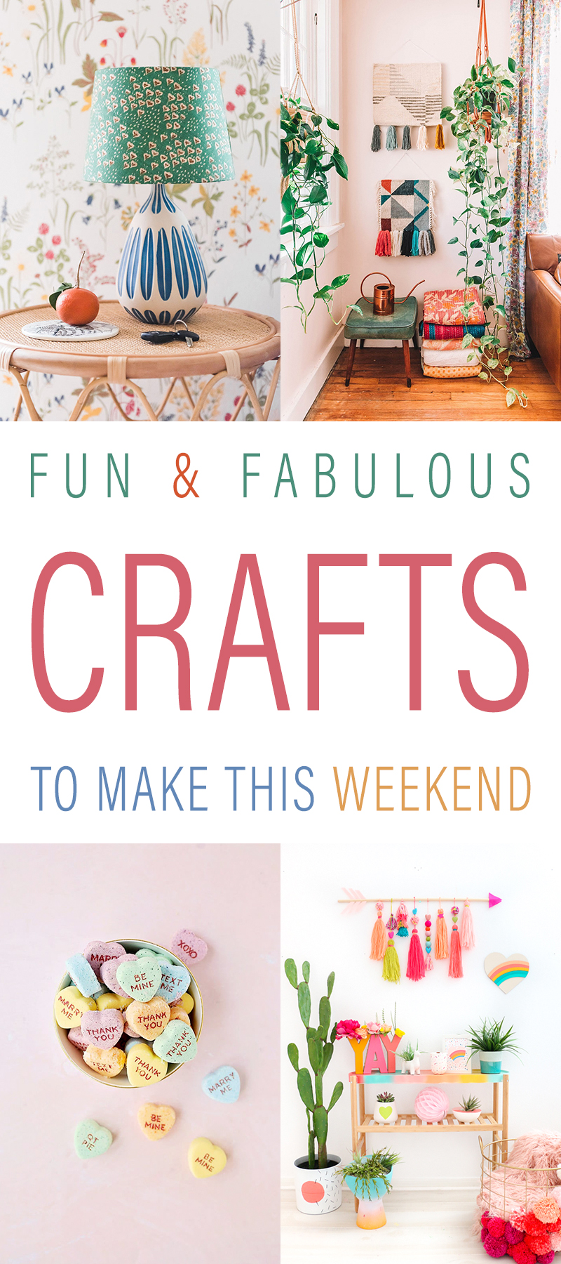 Fun and Fabulous Crafts To Make This Weekend are waiting for you over at The Cottage Market. These projects are fun... colorful and imaginative! Be Inspired