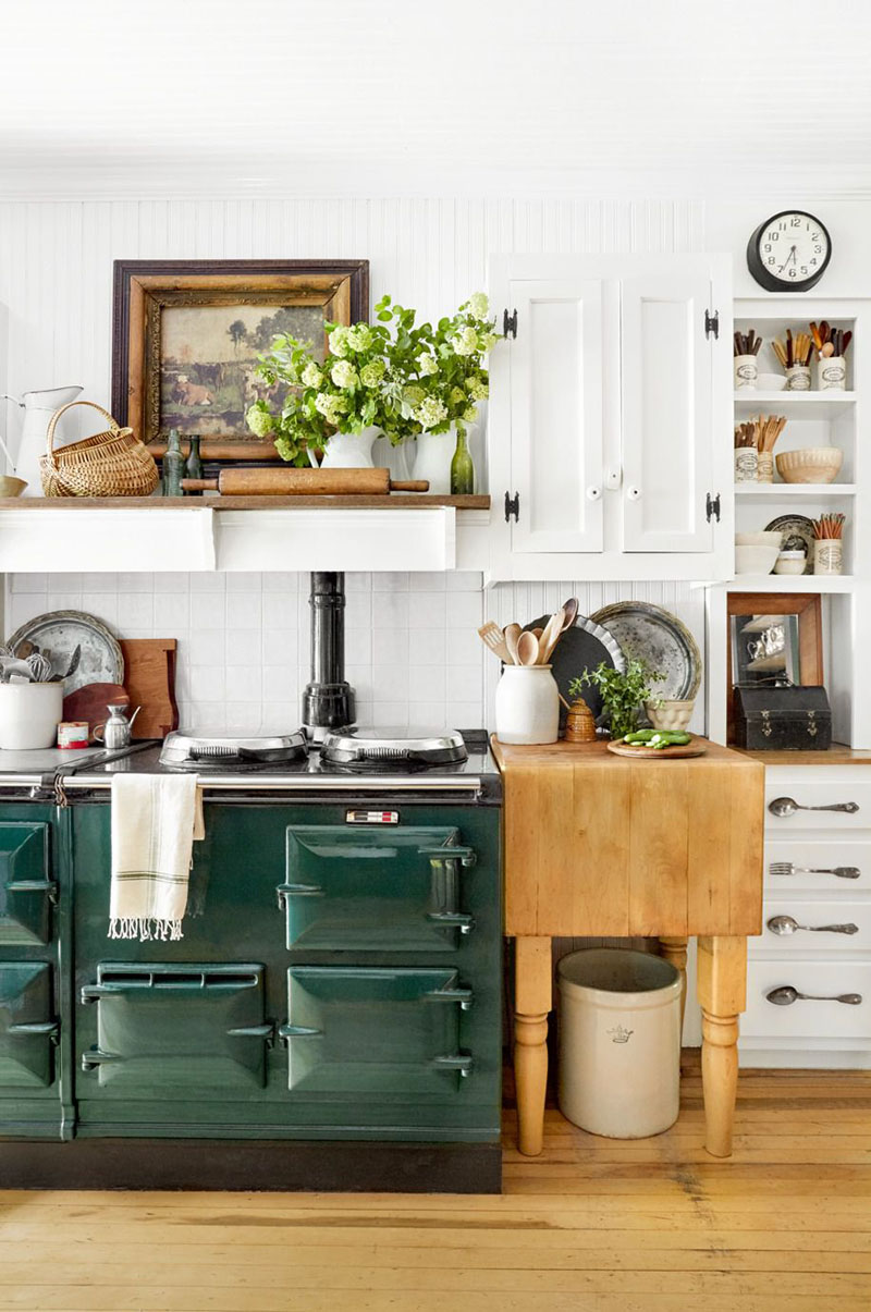 Kitchen Interior Design Ideas Classic: Fun Ideas To Accessorize Your Kitchen With Farmhouse Style
