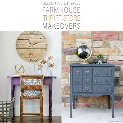 Delightful and Diyable Farmhouse Thrift Store Makeovers