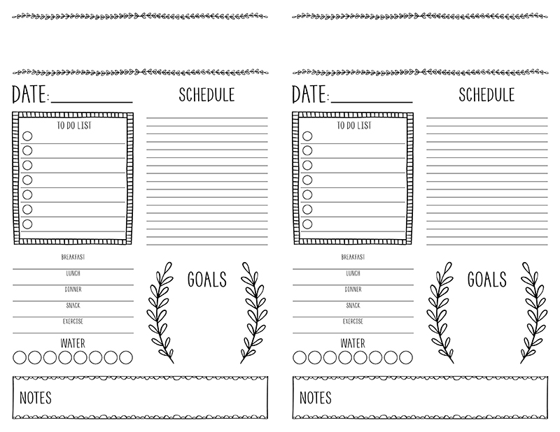 image regarding Printable Journals referred to as Bullet Journaling for Newcomers with Totally free Printable - The