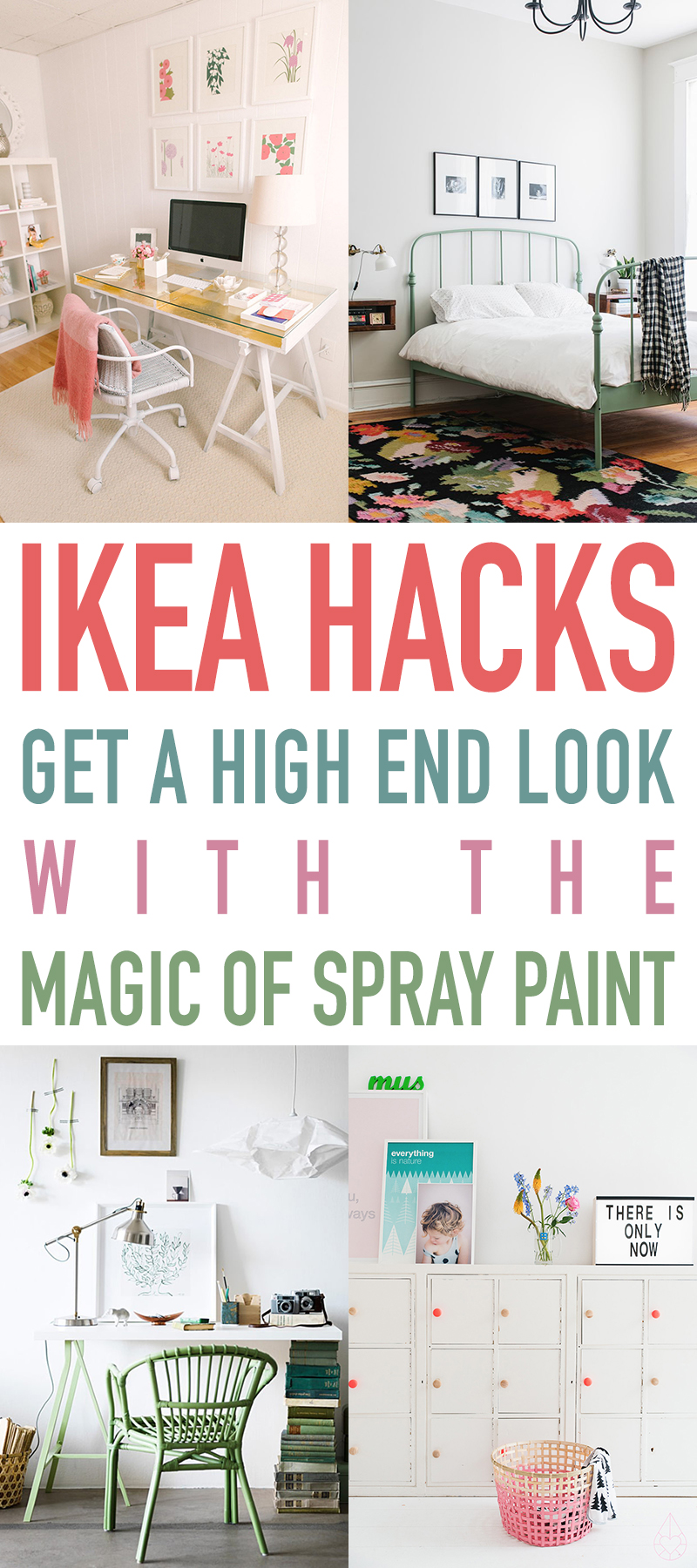 IKEA Hacks get a High End Look with the Magic of Spray Paint