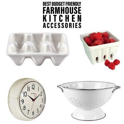 Best Budget Friendly Farmhouse Kitchen Accessories