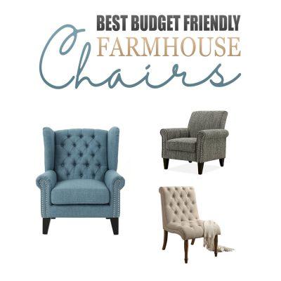 Best Budget Friendly Farmhouse Chairs