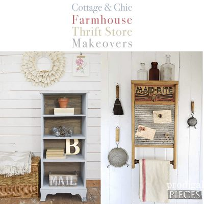 Cottage and Chic Farmhouse Thrift Store Makeovers