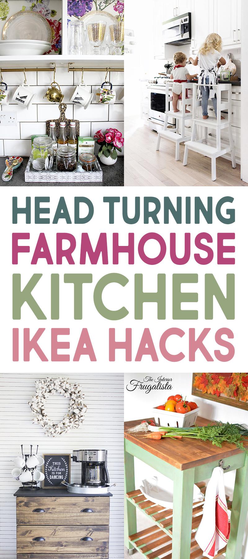 Head Turning Farmhouse Kitchen IKEA Hacks