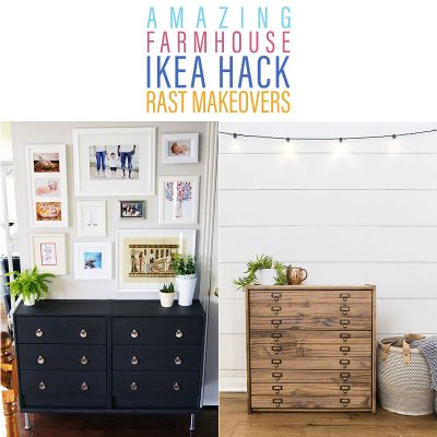 Amazing Farmhouse IKEA Hack Rast Makeovers